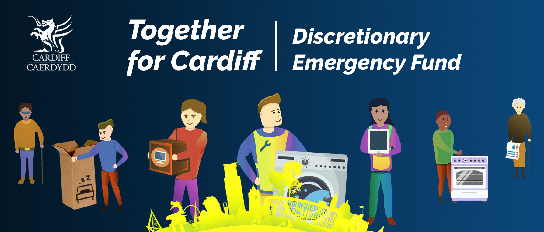 Together for Cardiff Emergency Fund launched for residents in need