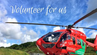 Volunteer with Wales Air Ambulance
